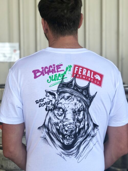 Biggie Juice tee (coloured print)