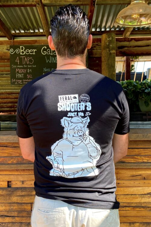 Shooter's Juicy IPA Tee (Mono Print)