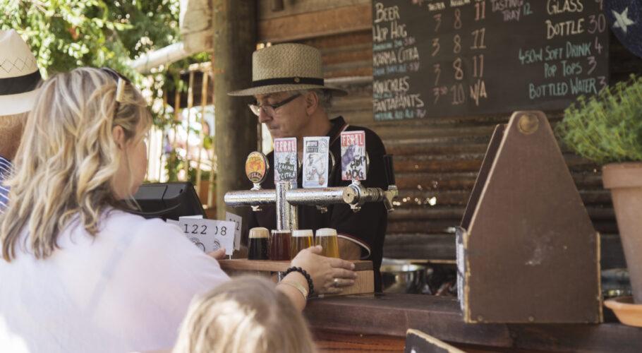 Feral Brewery Beer Garden Perth