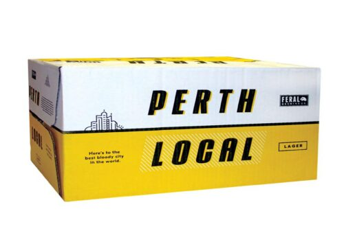 Perth Local Lager Can Case