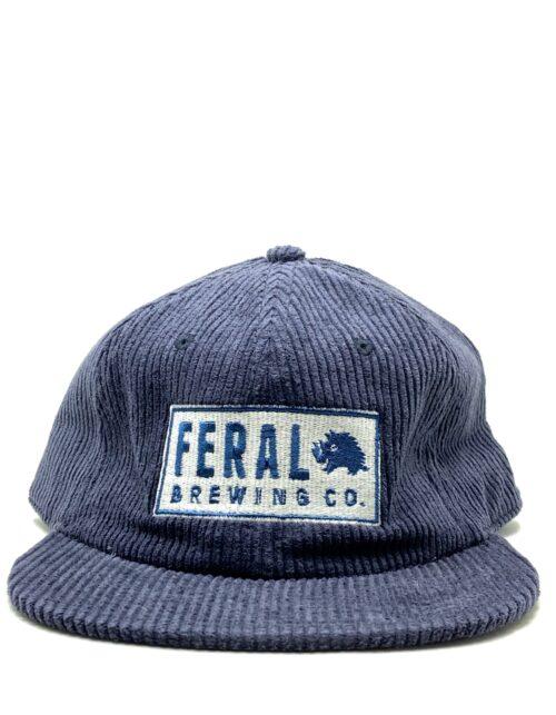 Blue Feral Cord Cap