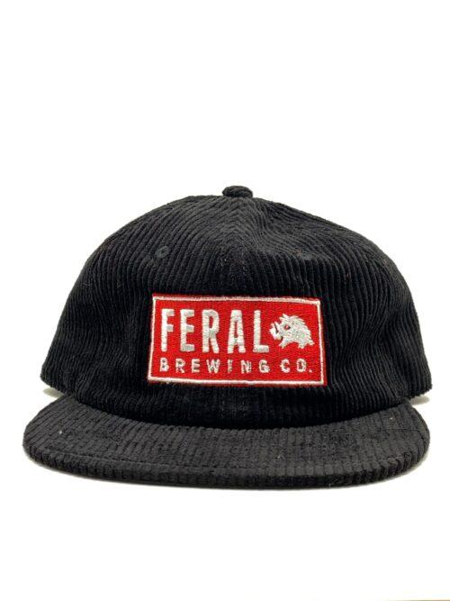 Black Feral Cord Cap